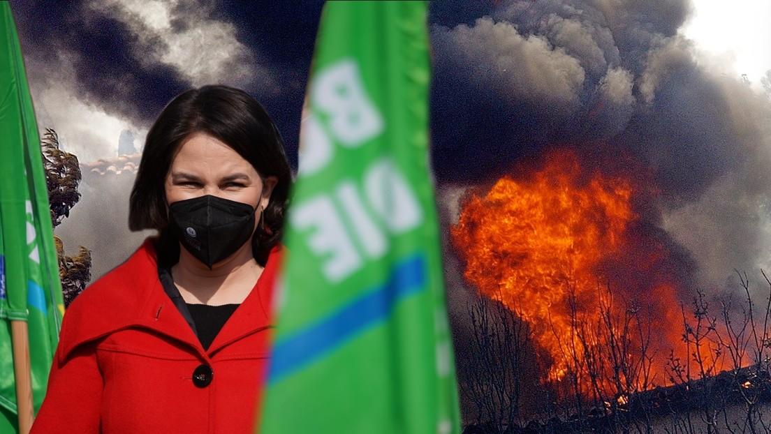 Klimakrise – Ein Feuer löscht man nicht mit Benzin, Frau Baerbock