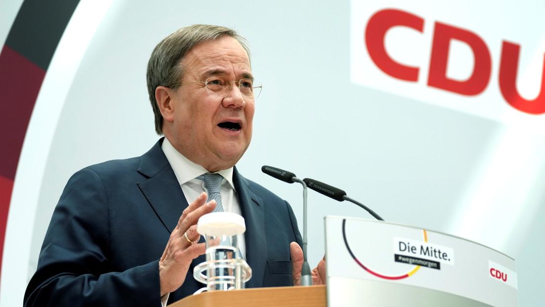 Laschet bekräftigt als Kanzlerkandidat der Unionsparteien: Ich gehe nach Berlin!