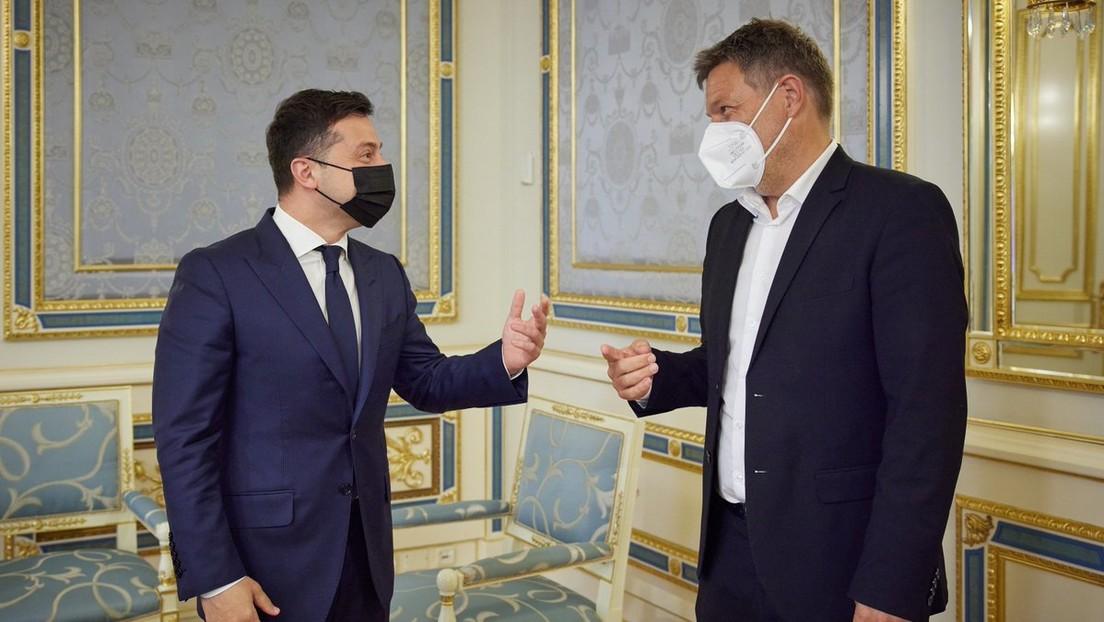 Grüne-Spitzenpolitiker weisen Habecks Vorstoß für Waffenlieferung an Bürgerkriegsland Ukraine zurück