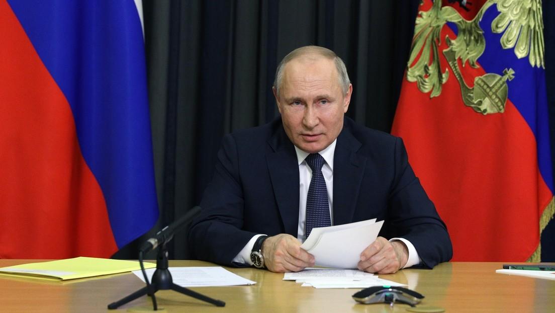 """Wladimir Putin: """"Einführung einer Impfpflicht unzweckmäßig"""""""
