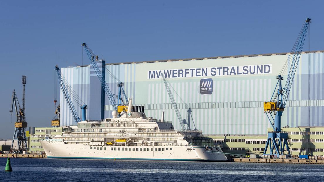 Staatliche Finanzierung: Regierung verpfändet Schiffe und Grundstücke deutscher Werften