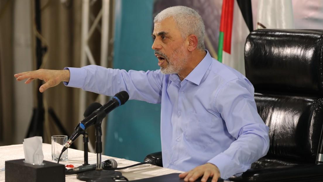 """Erste Rede seit Waffenruhe: Hamas-Chef in Gaza droht Israel mit """"10.000 Märtyrern"""""""