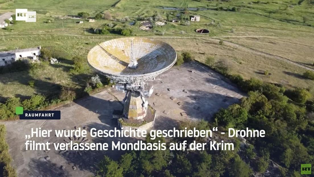 """""""Hier wurde Geschichte geschrieben"""" - Drohne filmt verlassene Mondbasis auf der Krim"""