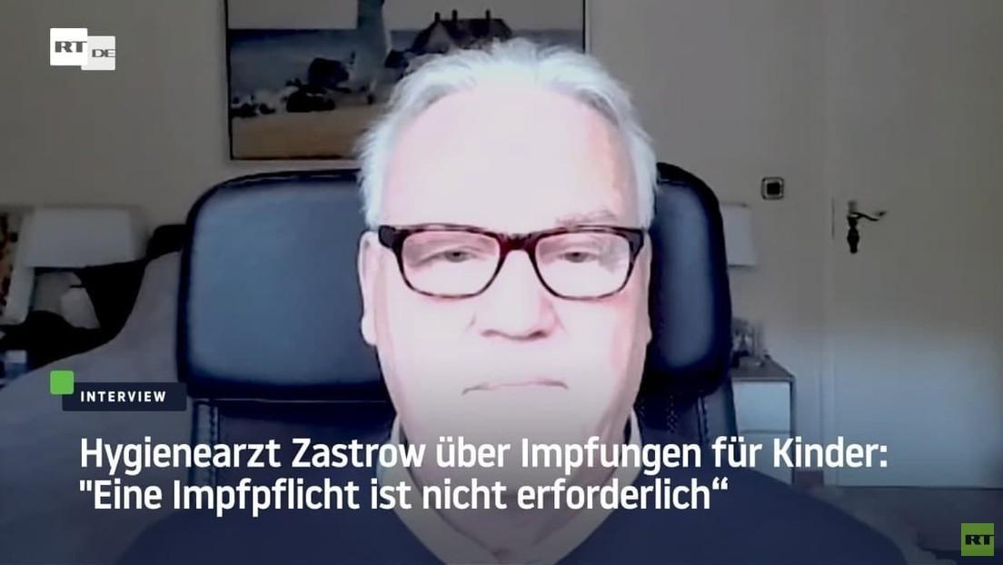 """Hygienearzt Zastrow über Impfungen für Kinder: """"Eine Impfpflicht ist nicht erforderlich"""""""
