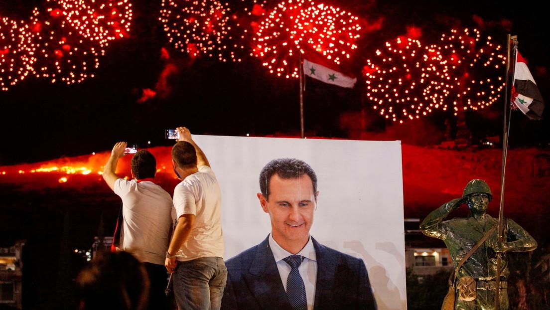 Syrischer Präsident Baschar al-Assad gewinnt Wiederwahl mit über 95 Prozent der Stimmen