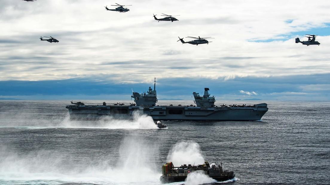 """Für ein """"globales Britannien"""" – Chef der britischen Marine beschwört Rückkehr zu alter Größe"""