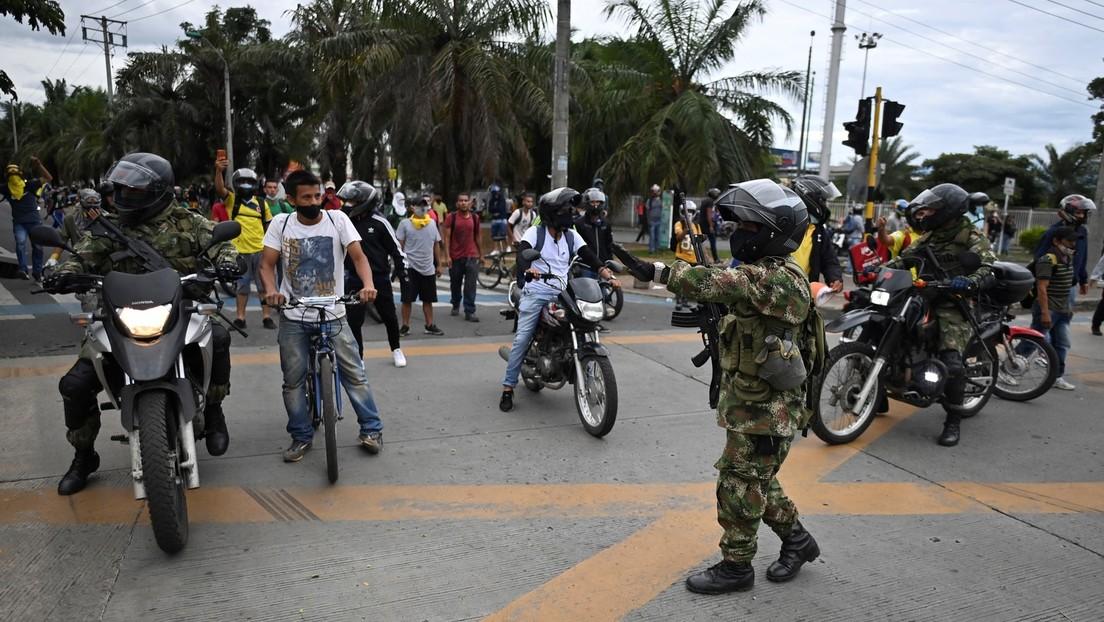 """Kolumbiens Präsident verkündet """"maximalen Militäreinsatz"""" nach vier Toten bei Ausschreitungen"""