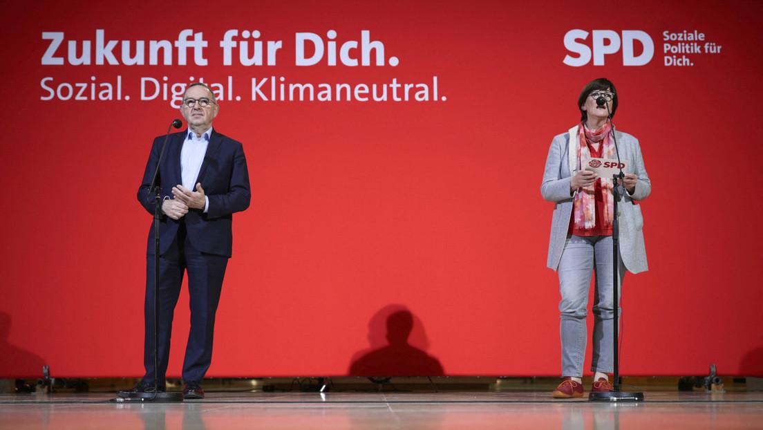 Ohne CDU an die Macht? SPD-Chefin Esken sieht eigene Partei im Vorteil