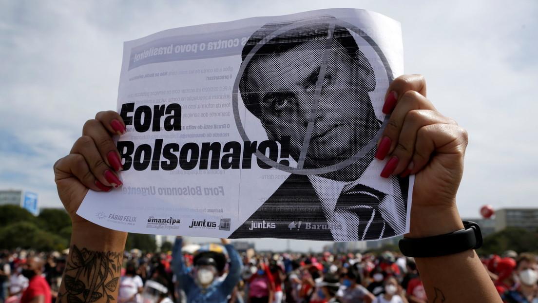 Tausende Brasilianer demonstrieren landesweit gegen Präsident Jair Bolsonaro
