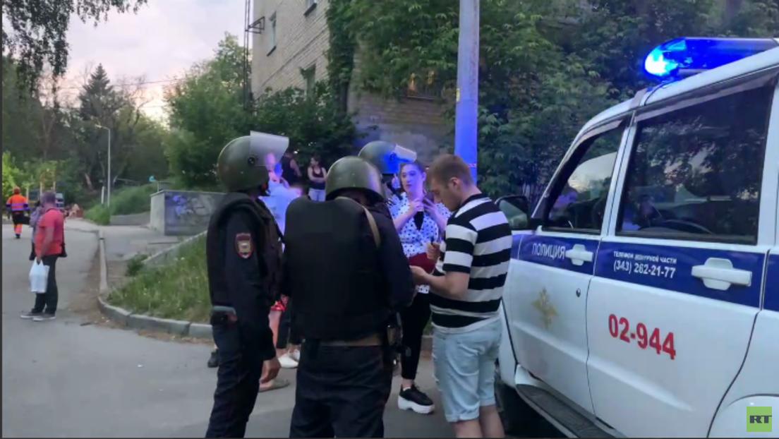 Jekaterinburg: Betrunkener schießt auf Passanten und verletzt ein Mädchen schwer