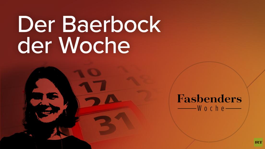 Fasbenders Woche: Der Baerbock der Woche