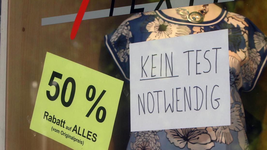Opposition und Wirtschaftsverbände fordern Ende der Testpflicht im Einzelhandel