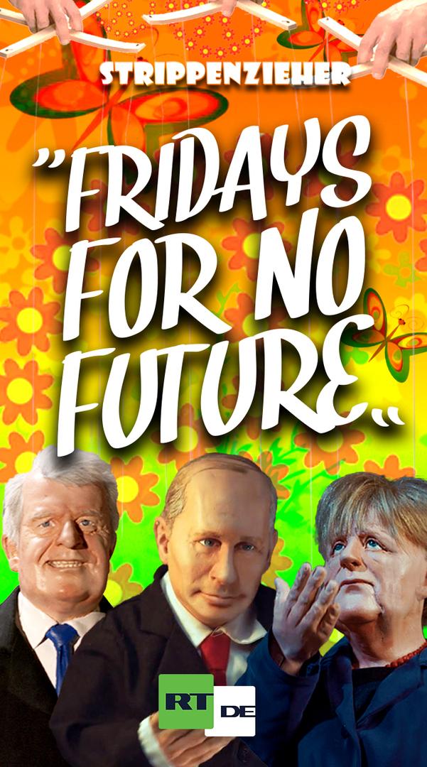 Fridyas for no Future | Merkel ist grün vor Wut