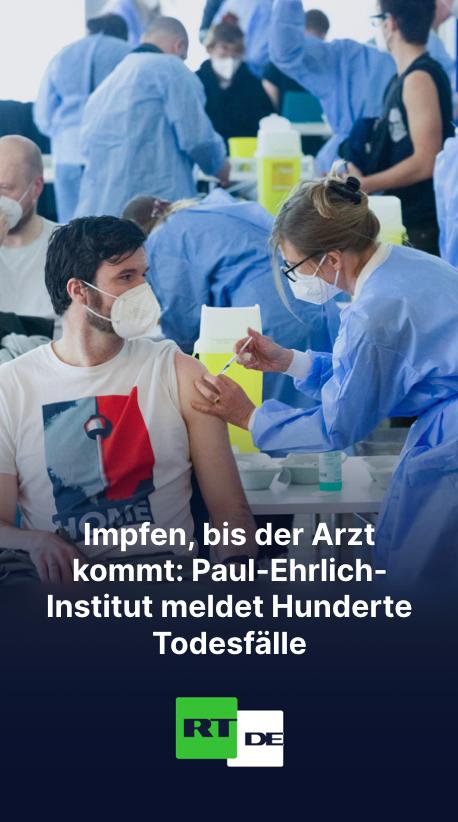 Impfen, bis der Arzt kommt: Paul-Ehrlich-Institut meldet Hunderte Todesfälle