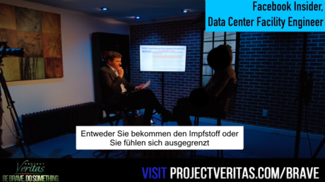 "Project Veritas entlarvt, wie Facebook ""Impfkritiker"" unterdrückt"