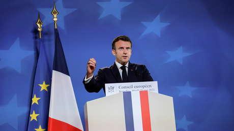 Macron erklärt auf EU-Gipfel Sanktionspolitik gegen Russland für gescheitert