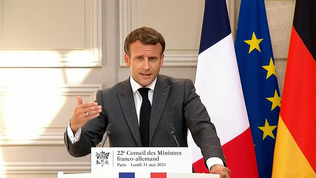 Macron: Ministertreffen im Normandie-Format mit Putin und Selenskij abgestimmt