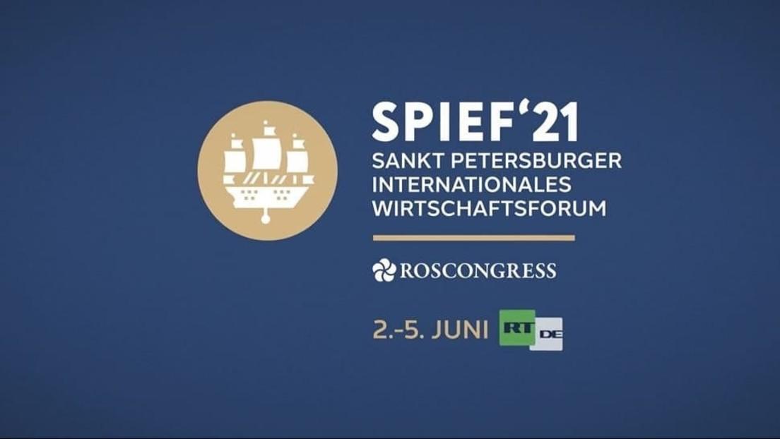 St. Petersburger Internationales Wirtschaftsforum startet nach Corona-Pause wieder