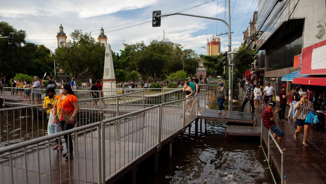 Jahrhundert-Hochwasser im Amazonasbecken: Flüsse um Manaus brechen Rekorde