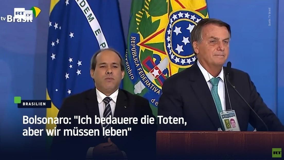 """Bolsonaro will Copa América ausrichten: """"Ich bedauere die Toten, aber wir müssen leben"""""""