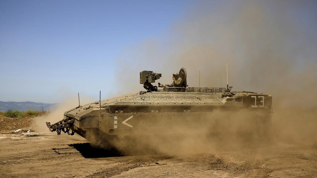 Israel greift Beobachtungsposten der syrischen Armee in den besetzten Golanhöhen an