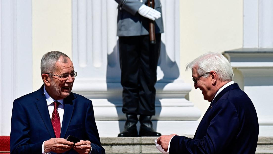 LIVE: Steinmeier und Österreichs Bundespräsident Van der Bellen halten Pressekonferenz ab