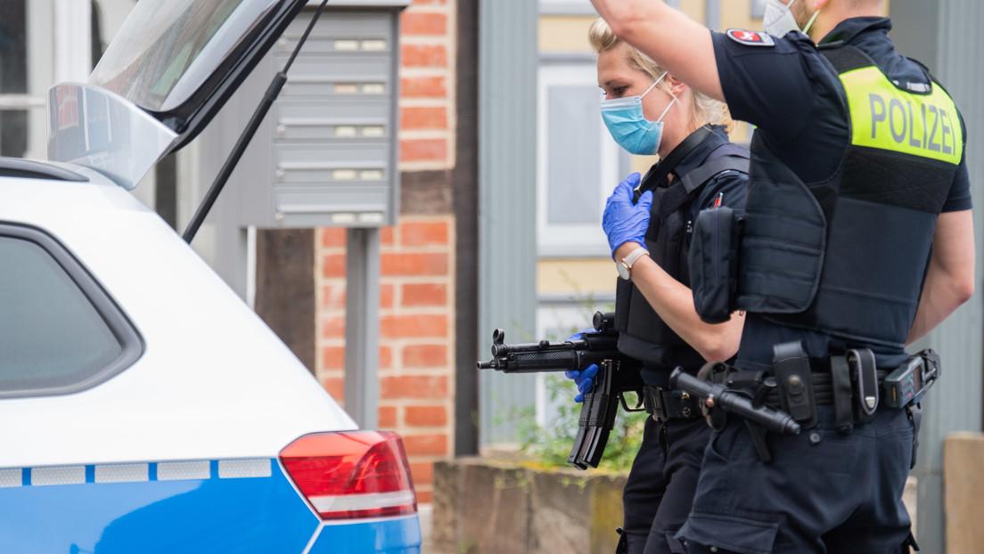 Großeinsatz der Polizei  nach Schüssen in Hannovers Innenstadt: Mindestens ein Toter