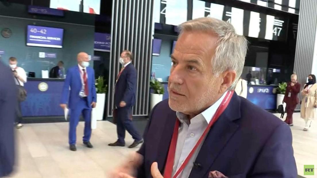 """Unternehmer Siegfried Wolf in St. Petersburg: """"Geht es der Wirtschaft gut, geht es uns allen gut"""""""
