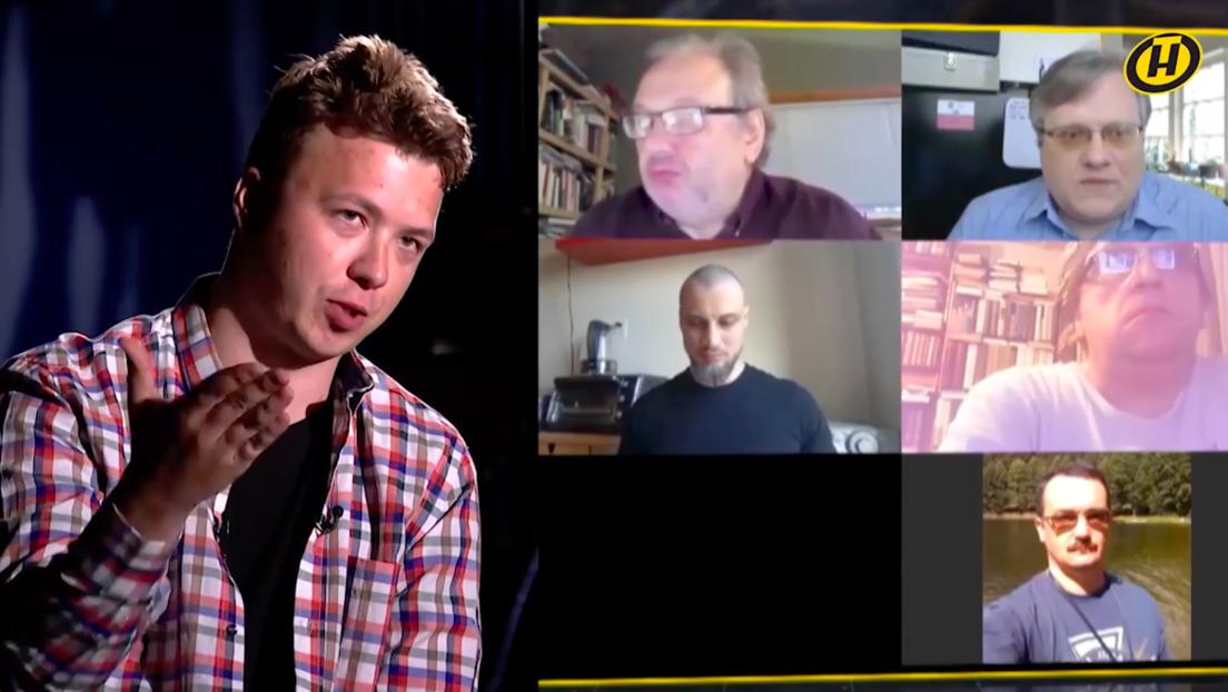 Festgenommener Aktivist Protassewitsch bricht in TV-Interview in Tränen aus