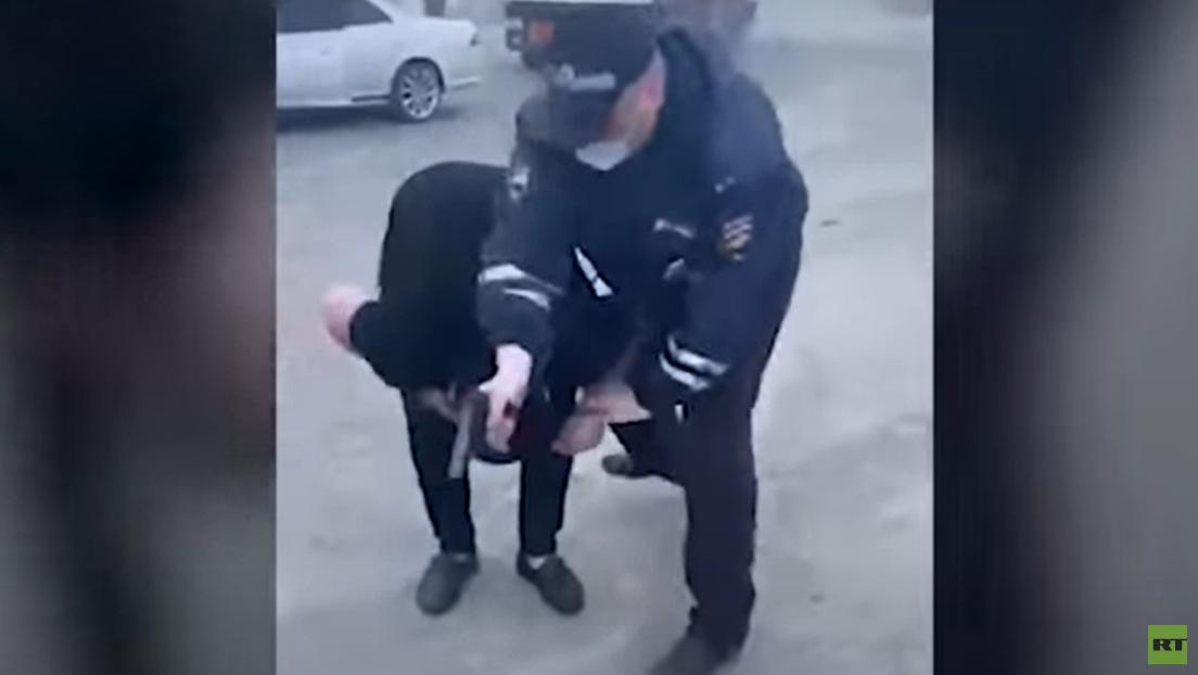 Russland: Verkehrspolizist erschießt versehentlich einen 19-Jährigen