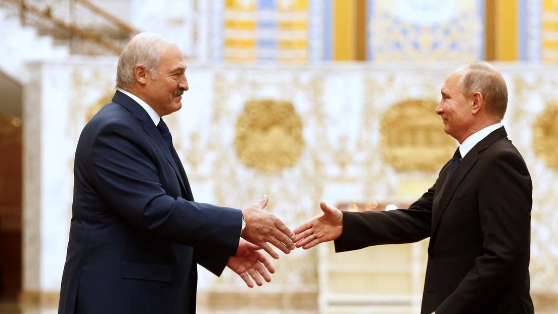 """Selenskij: Vereinigung von Russland und Weißrussland schafft """"Gefahren"""" für Kiew"""