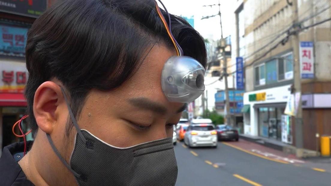 """Seoul: Student erfindet """"drittes Auge"""" für Smartphone-Abhängige"""