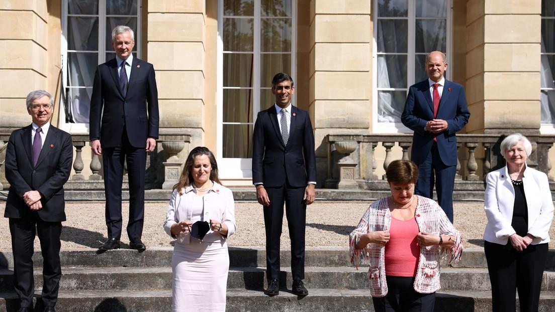 G7-Finanzminister einigen sich auf Mindestbesteuerung für Unternehmen