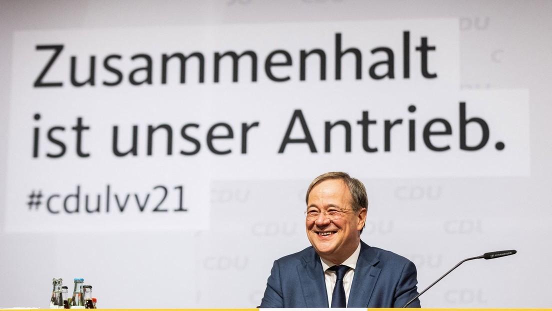 """""""Ich will der nächste Bundeskanzler werden"""": Laschet versucht Reihen der Union zu schließen"""