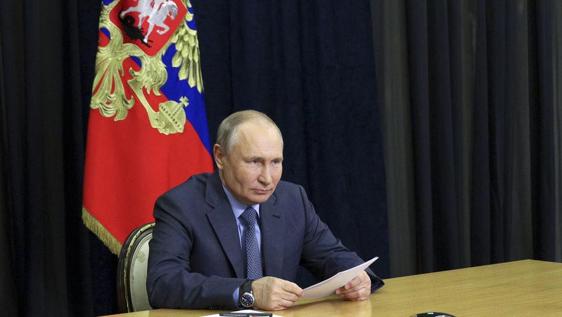 Putin unterzeichnet Gesetz zum Austritt Russlands aus dem Vertrag über Beobachtungsflüge