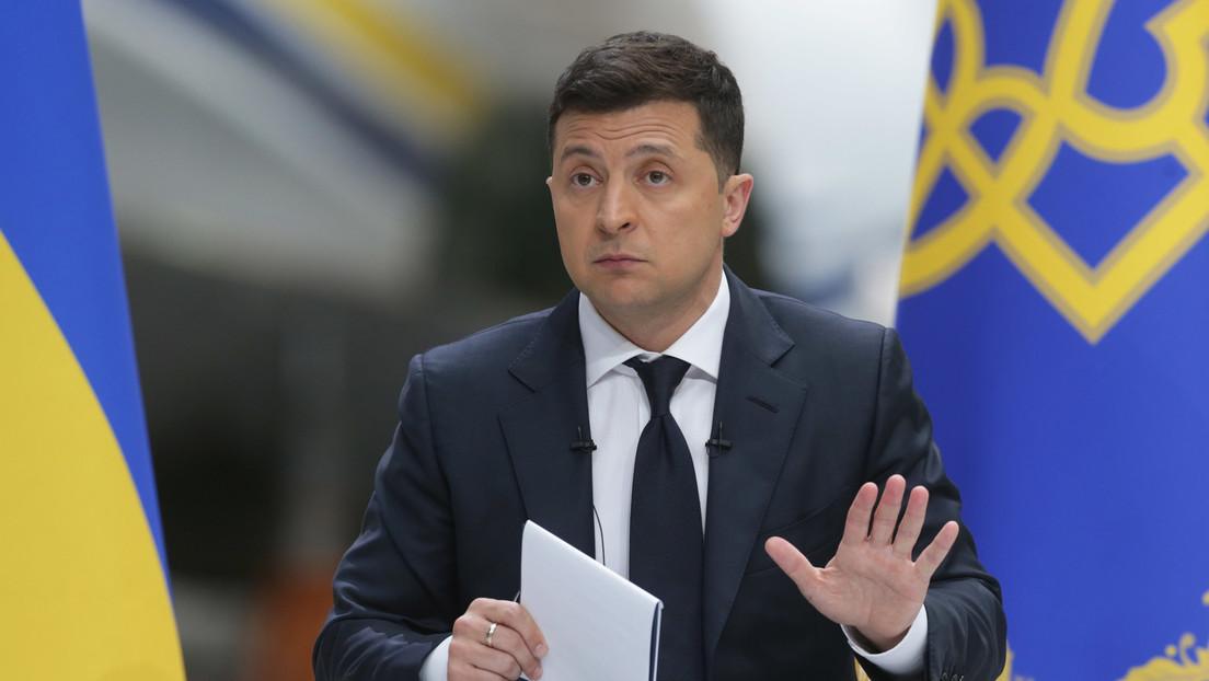 """Selenskij von US-Verzicht auf weitere Sanktionen gegen Nord Stream 2 """"unangenehm überrascht"""""""