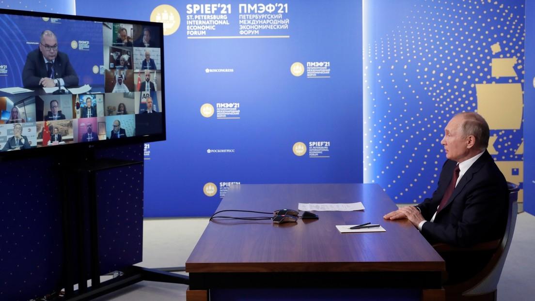 """""""Unsere Kanäle werden stranguliert"""": Putin erwidert Kritik vom Chef der Deutschen Presse-Agentur"""