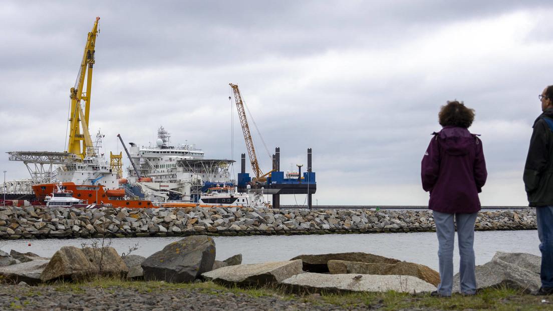 """US-Außenminister zum Bau von Nord Stream 2: """"Vollendete Tatsache"""""""