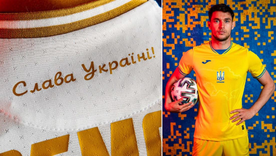 Schlachtruf der Nazi-Kollaborateure: UEFA billigt nationalistische Losung auf ukrainischen Trikots