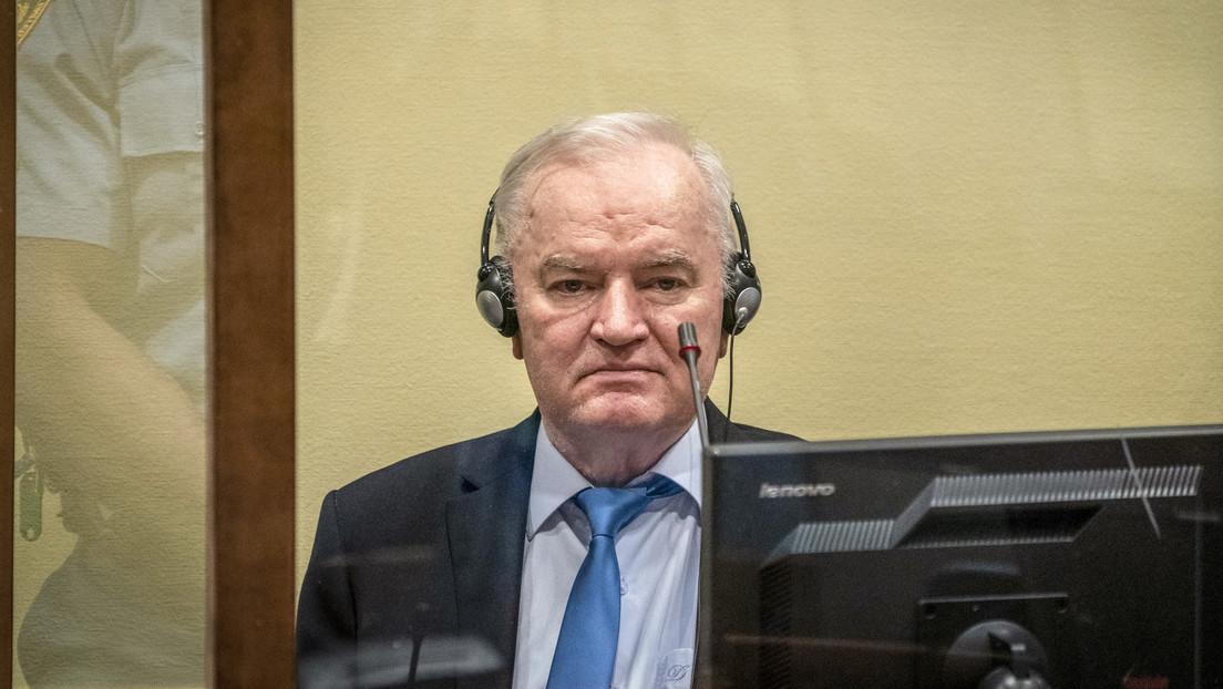UN-Tribunal bekräftigt lebenslange Haft für serbischen Ex-General Ratko Mladić