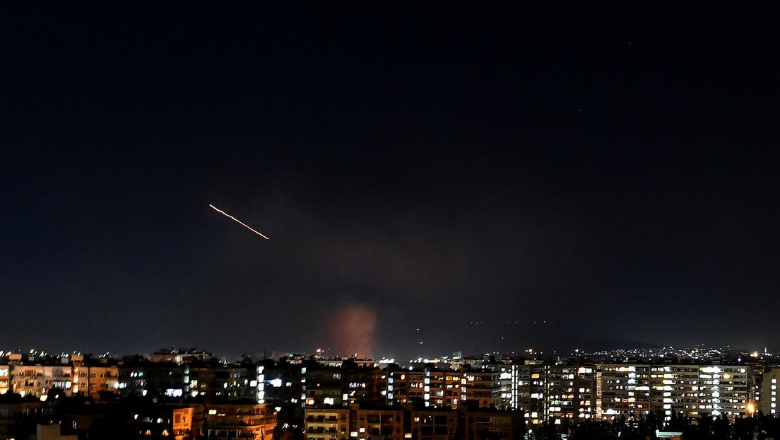 Syrien fängt laut Staatsmedien israelischen Raketenangriff über Damaskus ab
