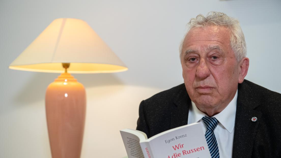 Ex-SED-Chef Egon Krenz in Klinik