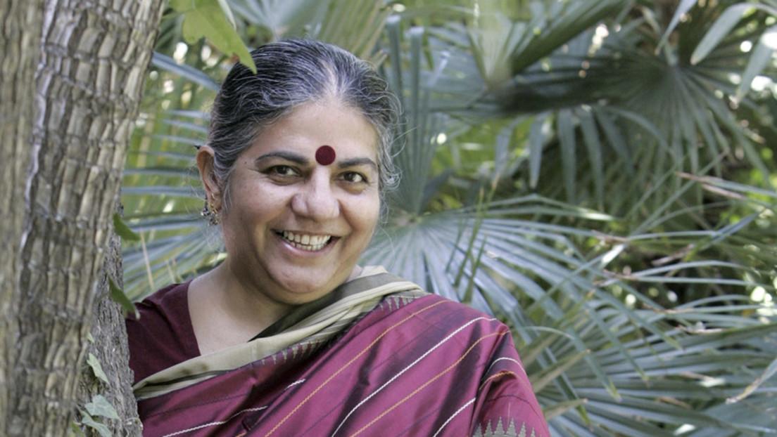 """Dr. Vandana Shiva: """"Die Infrastruktur der Gier zerstört die Infrastruktur des Lebens"""""""