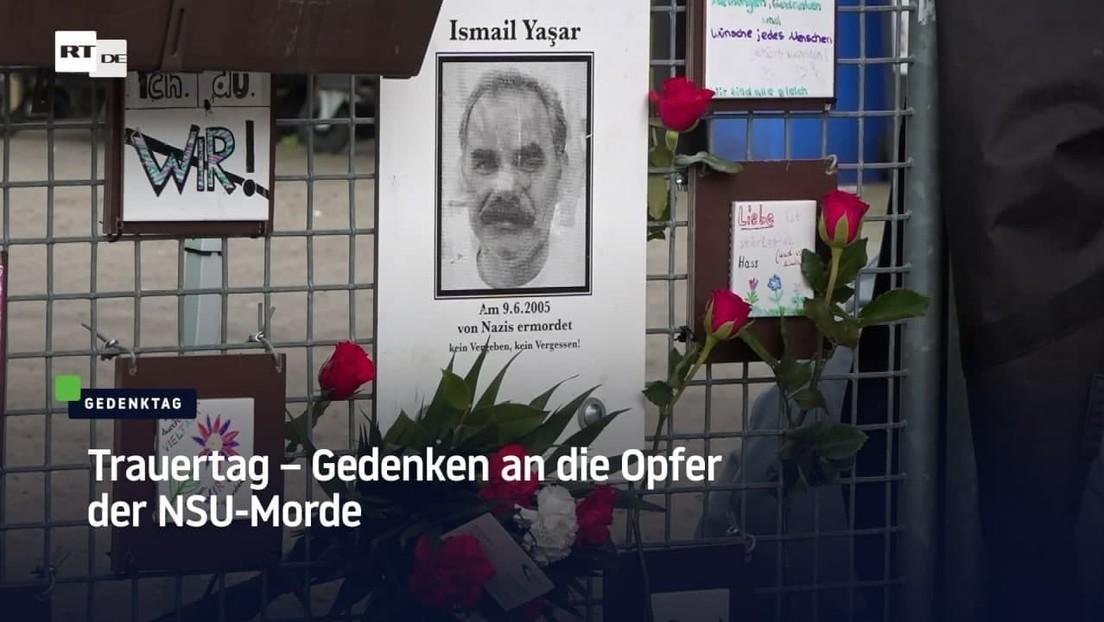 Nürnberg: Trauertag – Gedenken an die Opfer der NSU-Morde