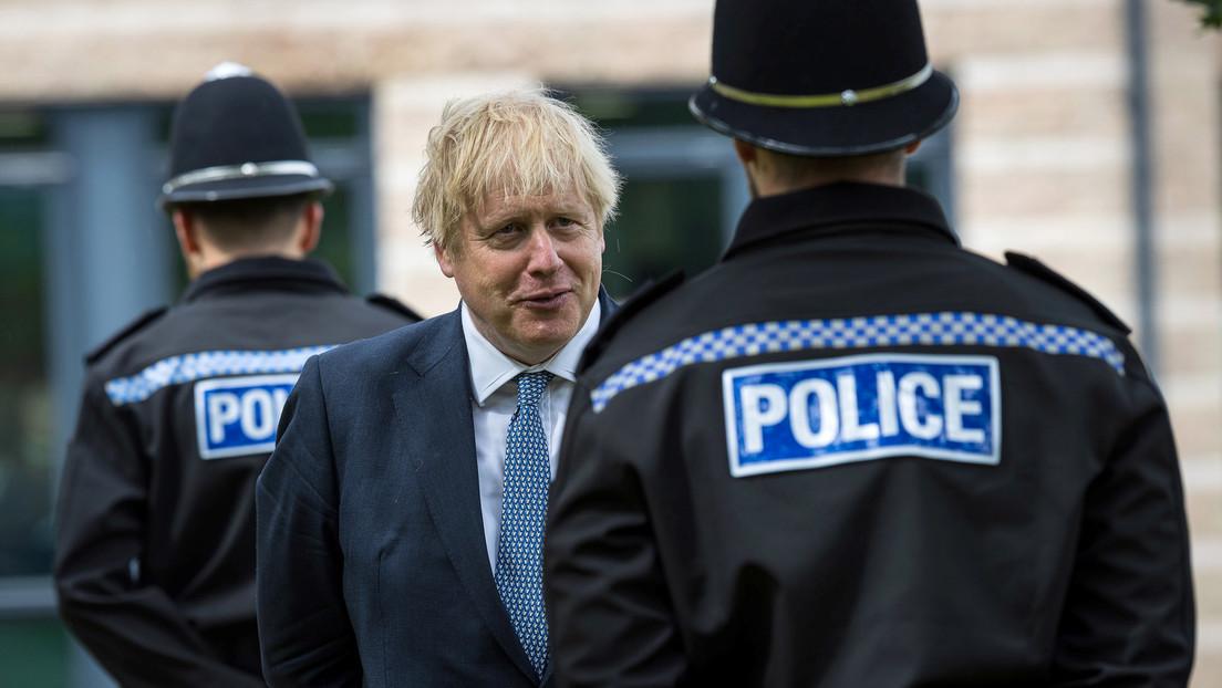 Ungeimpfte Polizei in GB fühlt sich im Vorfeld des G-7-Gipfels von Regierung verraten