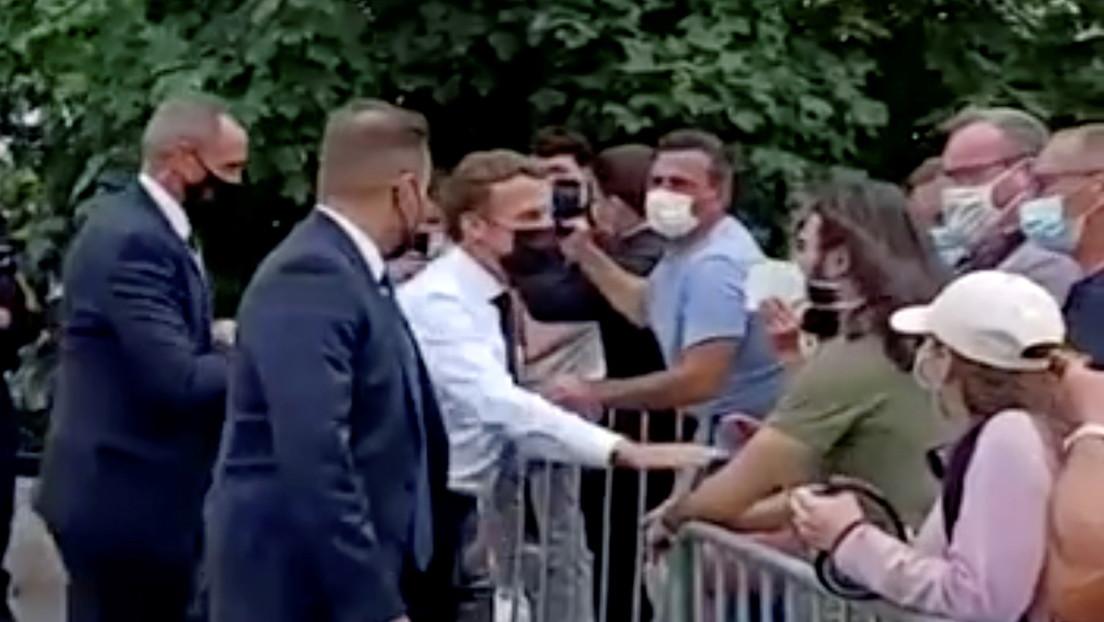 Frankreich: Angreifer bekommt 18 Monate Haft für Ohrfeige gegen Präsident Macron