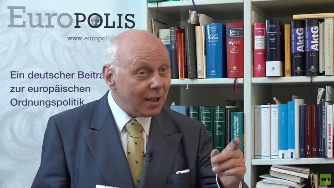 """Rechtsprofessor Dr. Markus Kerber: """"System in Brüssel ist außer Kontrolle"""""""