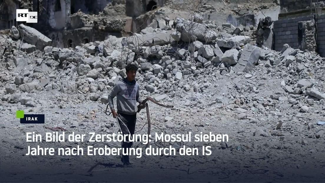Ein Bild der Zerstörung: Mossul sieben Jahre nach Eroberung durch den IS