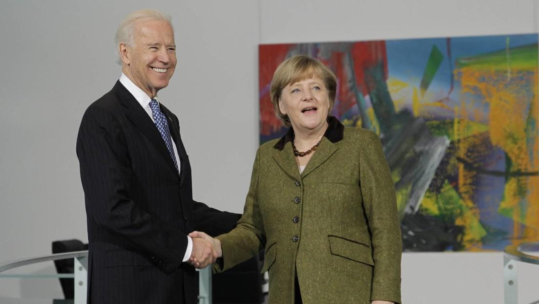 Weißes Haus: US-Präsident Joe Biden empfängt Angela Merkel am 15. Juli