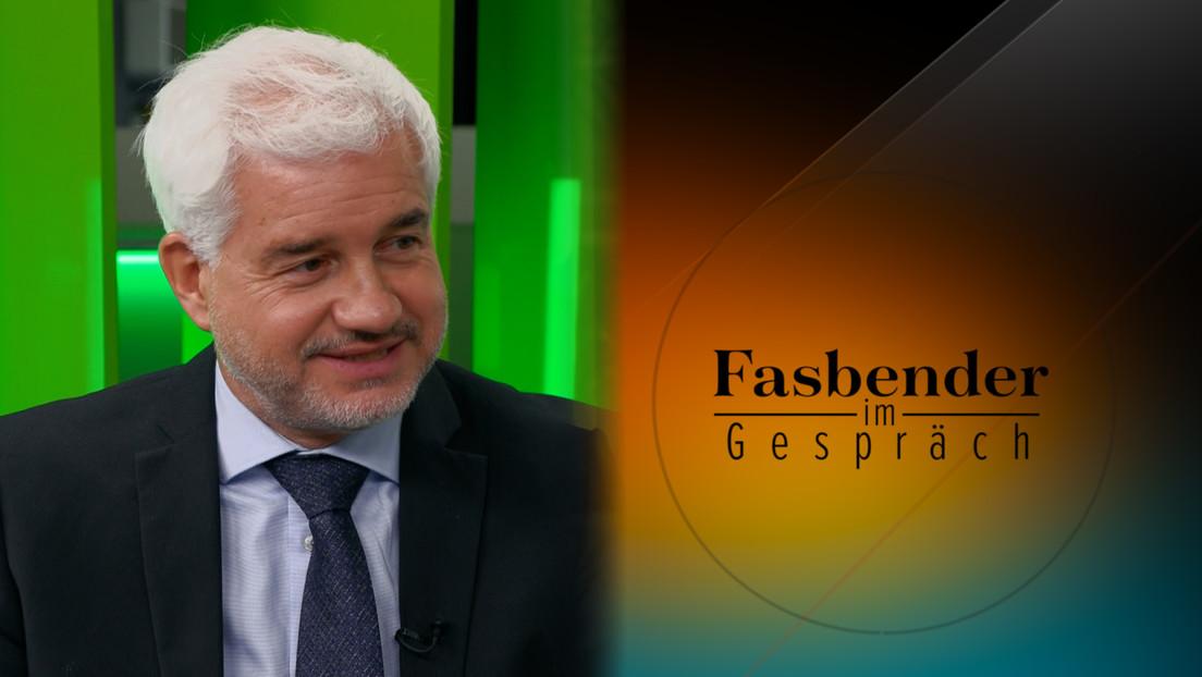 """Fasbender im Gespräch mit Hans-Joachim Frey: """"Russophobie, Dämonisierung, die ins Krankhafte geht"""""""